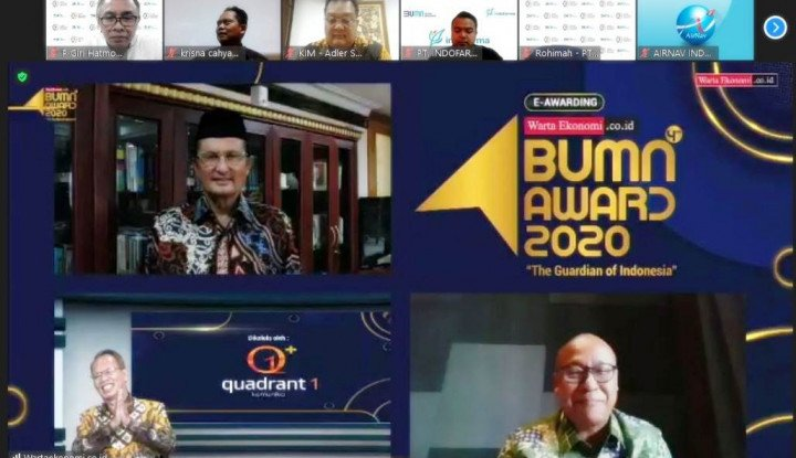 kliring berjangka indonesia raih the best financial performance of indonesia best bumn award 2020