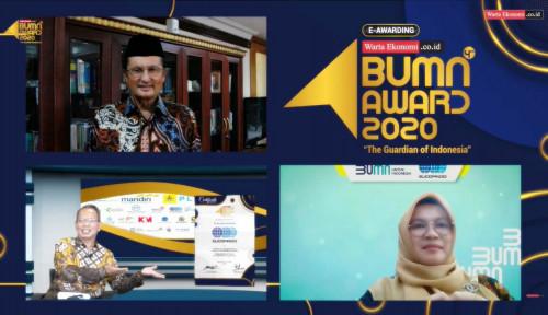 Tingkatkan Layanan Digital, Sucofindo Raih Penghargaan di Ajang Indonesia Best BUMN Award 2020