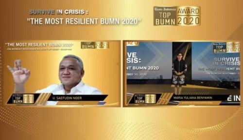 Sabet Penghargaan Best Performing CEO in Technology Leadership, Pelindo III: Kado HUT ke-28.
