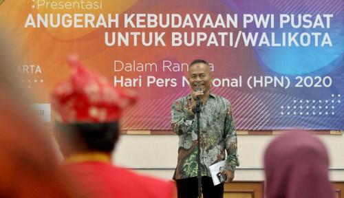 Apresiasi Bupati/Walikota Berbudaya, Pendaftaran Anugerah Kebudayaan PWI Pusat Masih Dibuka