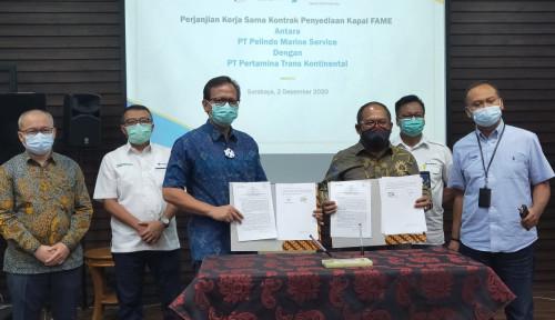 Kembangkan Bisnis, Pertamina Trans Kontinental Gandeng Pelindo
