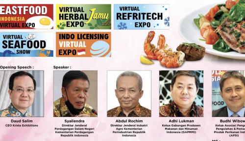 Berpeluang Dilirik Mancanegara, Pameran Eastfood Indonesia Virtual Expo Kembali Digelar