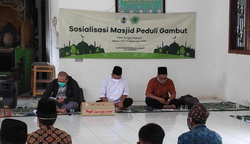 BRG Gandeng Masjid Sebagai Pusat Dakwah dan Penjaga Ekosistem Gambut