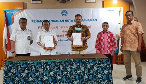 Perkuat Hulu Aplikasi Warung Pangan, BGR Gandeng Inkoppas