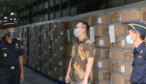 Di Jatim, Bea Cukai Bantu 2 Perusahaan Laksanakan Ekspor Perdana