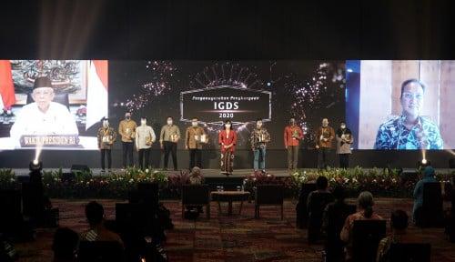 Apresiasi Masyarakat Industri, Wapres Maruf Beri Penghargaan Upakarti dan IGDS 2020