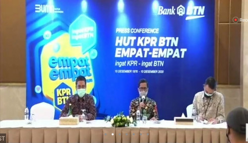Selama 44 Tahun, BTN Sudah Kucurkan Pembiayaan KPR Rp317 Triliun