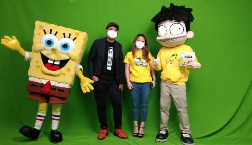 MNC Licensing Rilis Seri Buku Cerita Si Juki x SpongeBob SquarePants