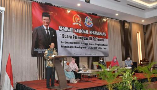 Keterwakilan Perempuan di Parlemen Rendah, Wakil Ketua MPR: Harus Naik di Pemilu 2024