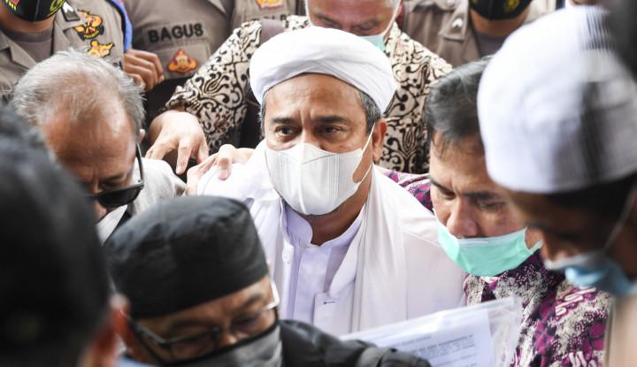 Ogah Buka Fakta Positif Covid-19, Habib Rizieq Ngeles: Saya Tak Mau Dipolitisasi