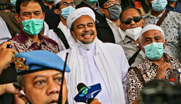 Sidang Tatap Muka, Habib Rizieq Minta Tes Swab pada ....