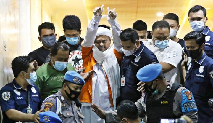 Geger Raja Salman Jemput Paksa Habib Rizieq di Penjara, Faktanya...