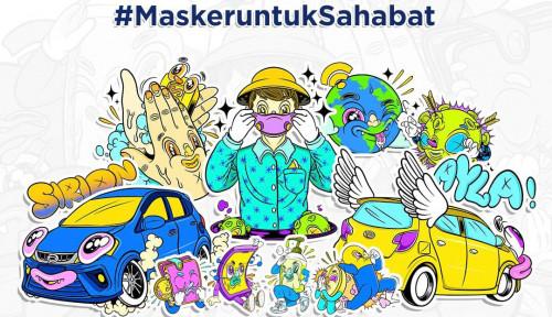 Daihatsu Kampanye Tingkatkan Kesadaran Pakai Masker