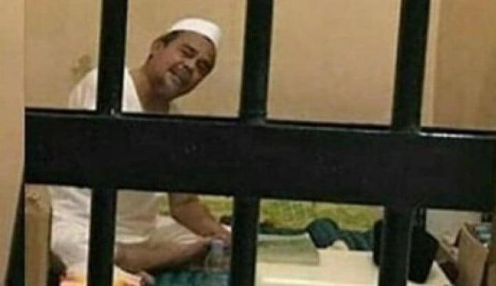 Curahan Hati Habib Rizieq Bikin Begidik: Pak Hakim.. Saya Nggak Bisa Tidur Dipenjara, Panas..