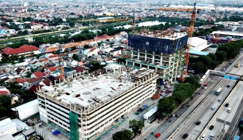 Proyek Pembangunan Maritime Tower Mencapai 50,67%