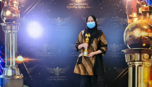 Pertagas Kembali Raih Gold Rank di Asia Sustainability Reporting Rating 2020
