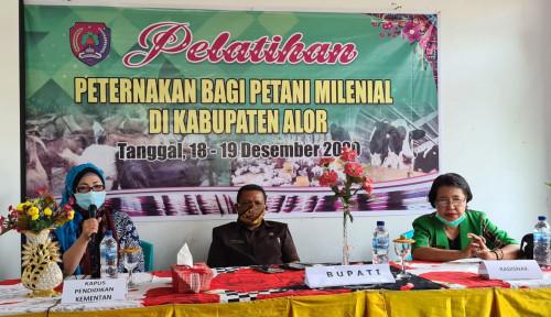 Dukung Kemandirian Ternak, BPPSDMP Adakan Pelatihan Peternakan bagi Petani Milenial