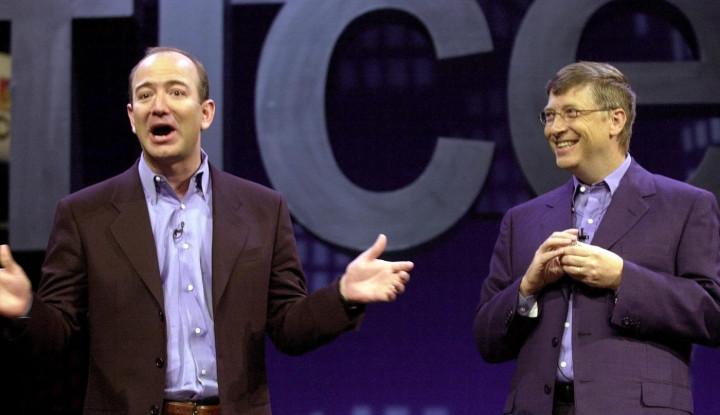 Foto Berita Kolaborasi Dahsyat, Dua Orang Terkaya Dunia Bill Gates dan Bezos Bersatu Lawan Perubahan Iklim!