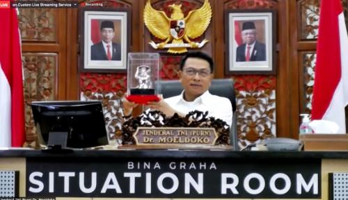 Tiba-Tiba Moeldoko Sampaikan Pesan dari Pak Jokowi: Semua Menteri...