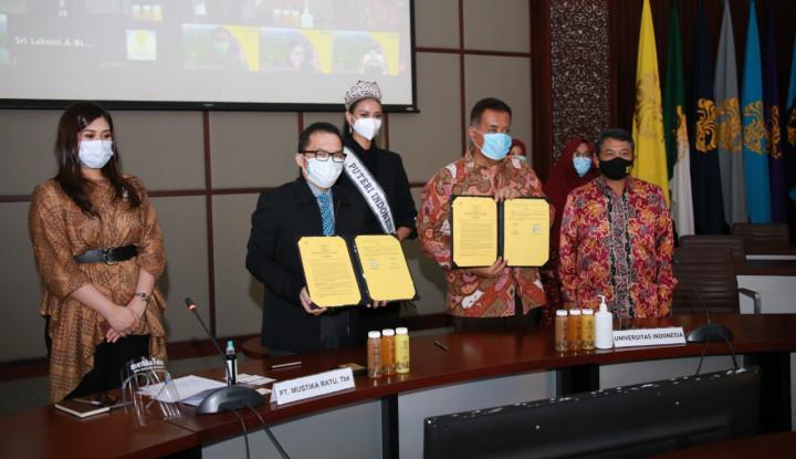 MRAT Mustika Ratu Jalin Kerja Sama dengan Universitas Indonesia