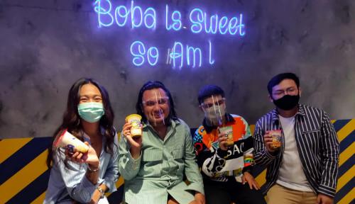 Bersama Jovi Adhiguna dan Fadil Jaidi, Nikmat Group Resmikan Street Boba ke-68