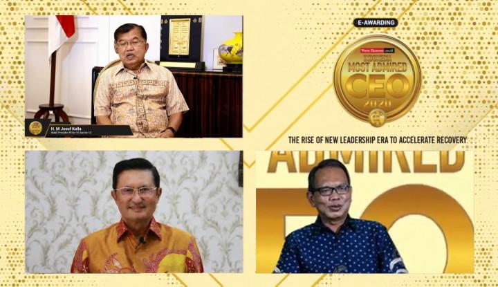 Foto Berita Inilah Para Peraih Indonesia Most Admired CEO 2020