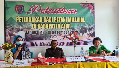 Bimtek Peternakan Dorong Milenial Buka Usaha Peternakan di Kabupaten Alor, NTT