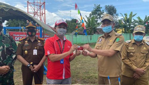 Jaringan Broadband Telkomsel Jangkau Desa Laman Baru Kabupaten Sukamara