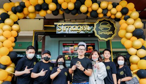 Hadir di Tengah Pandemi, SIMAGER Hadirkan Mantau Burger Pertama di Indonesia