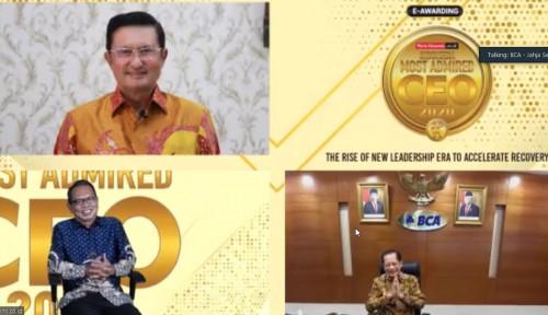 BCA Raih Penghargaan Indonesia Most Admired CEO 2020
