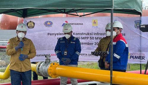 Perta Daya Gas Selesaikan Pembangunan Infrastruktur Pipa Gas untuk Pembangkit Listrik Sorong