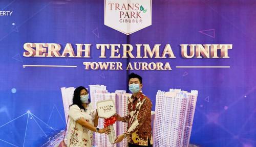 Jelang Tahun Baru, Transpark Cibubur Mulai Serah Terima Tower Aurora