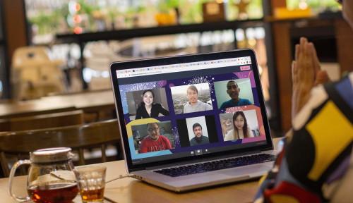 Viral Siswa Pakai Background PDIP saat Zoom Meeting, Warganet: Kader Sejak Dini