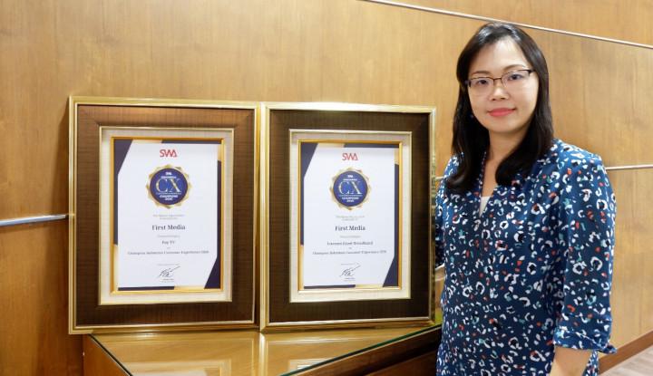 KBLV First Media Sabet Indonesia Customer Experience Award 2020