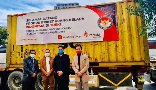 UMKM Briket Arang Kelapa Indonesia Dirikan Perusahaan Sentra Distribusi di Turki