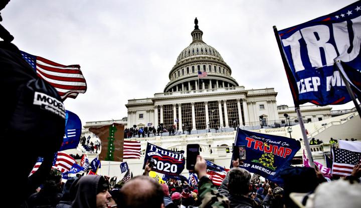 Foto Berita Belasan Miliarder AS Kecam Kerusuhan di Capitol, Ini Kata Mereka