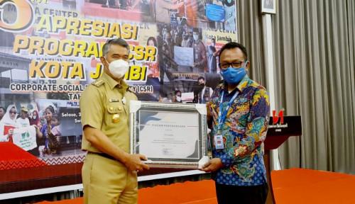 Sucofindo Cabang Jambi Raih Apresiasi pada 5th Apresiasi Program CSR Kota Jambi