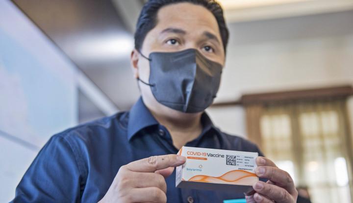Sinovac Halal dan Dapat Izin Penggunaan, Erick Thohir Senang: Alhamdulillah...