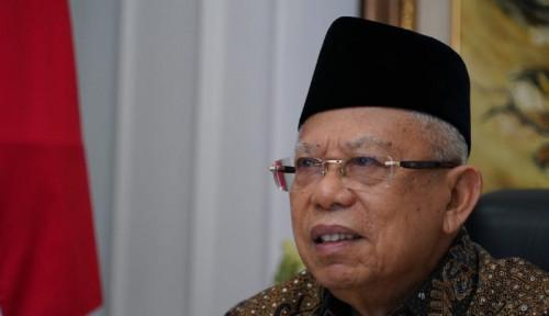 Wapres Ma'ruf Amin Doakan  Evakuasi Sriwijaya Air SJ 182 Berjalan Lancar