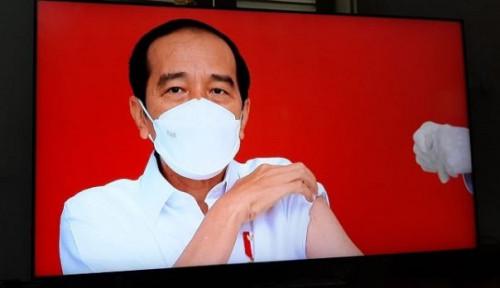 Jokowi Disuntik Vaksin Covid-19, dr Tirta Langsung Nyamber: Sampean Sangar!