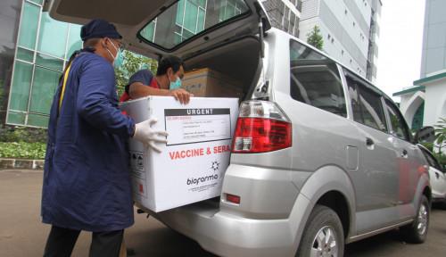 Lebih Cepat dari Jadwal, Tangerang Sudah Terima Ribuan Dosis Vaksin Sinovac