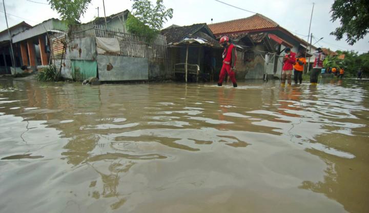 Banjir di Kalimantan Selatan Lumpuhkan Kota, Bantuan Sangat Dinanti