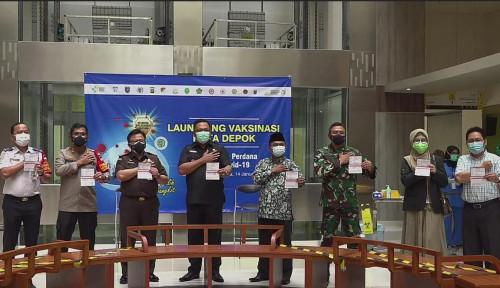 Rumah Sakit UI Jadi Lokasi Peluncuran Program Vaksinasi Covid-19 di Depok