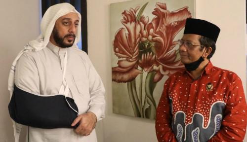 Mahfud MD: Syekh Ali Jaber Kritik Pemerintah Tapi Beri Solusi