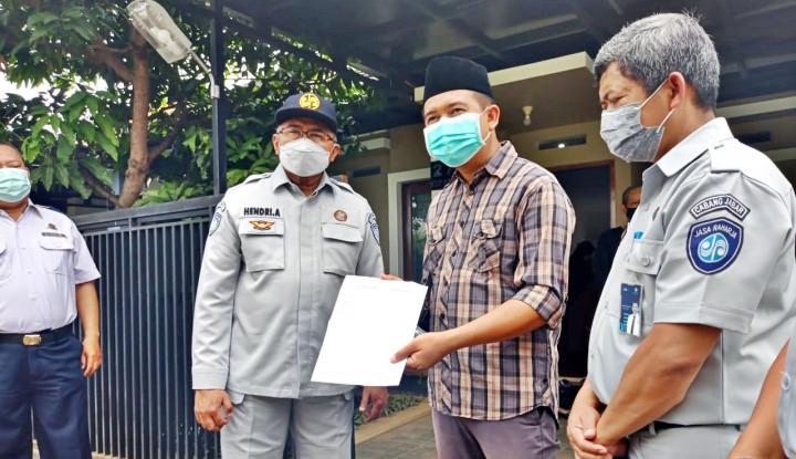 Jasa Raharja Serahkan Santunan Korban Penumpang Sriwijaya Air SJ182 Asal Bandung