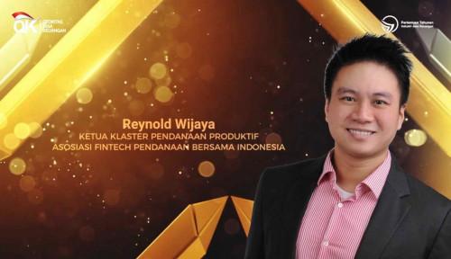 Co-Founder & CEO Modalku Raih Penghargaan Tokoh Penggerak Fintech dari OJK