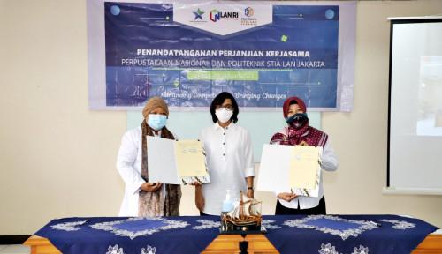 Perpusnas Berkomitmen Kembangkan Sumber Daya Perpustakaan Politeknik STIA LAN Jakarta