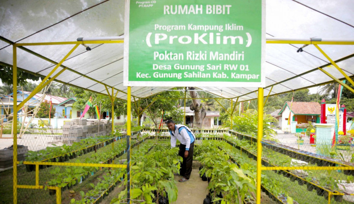 Mengintip Suksesnya Program Pencegahan Perubahan Iklim Tingkat Desa