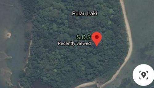 Tanda SOS di atas Pulau Laki Gegerkan Netizen, Terus Langsung Lapor ke...
