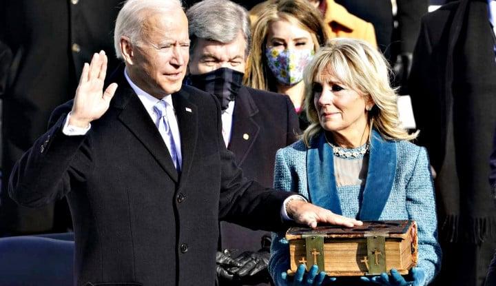 Foto Berita Resmi Jadi Presiden, Segini Loh Perkiraan Gaji Joe Biden